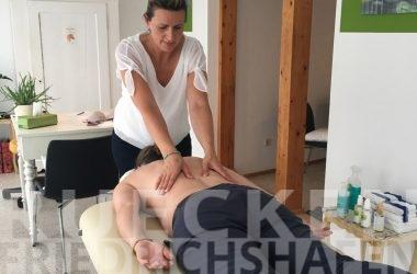 Schmerzen im unteren Rücken in Markdorf (10 Min von Friedrichshafen) behandeln